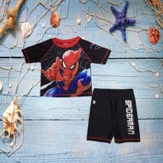 Đồ bơi bé trai hình siêu nhân 10-39kg – đồ bơi 2 mãnh – vải thun cao cấp chuyên dùng – độ co giãn cực tốt-Hương Nhiên