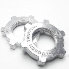 Bộ 2 khóa lồng, chặn lồng quạt nhôm cao cấp, dùng để khóa phần lồng sau của quạt, sử dụng hầu hết tất cả các loại quạt thông dụng (N005)