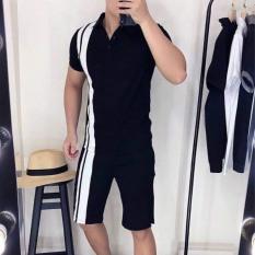 Bộ Thể Thao Nam , Bộ Thun Hè Nam Cộc Tay Kiểu Dáng Unisex Chất liệu Cá Sấu Cao Cấp , Thể thao , trẻ trung, Năng Động – BN309 – Kiên Fashion