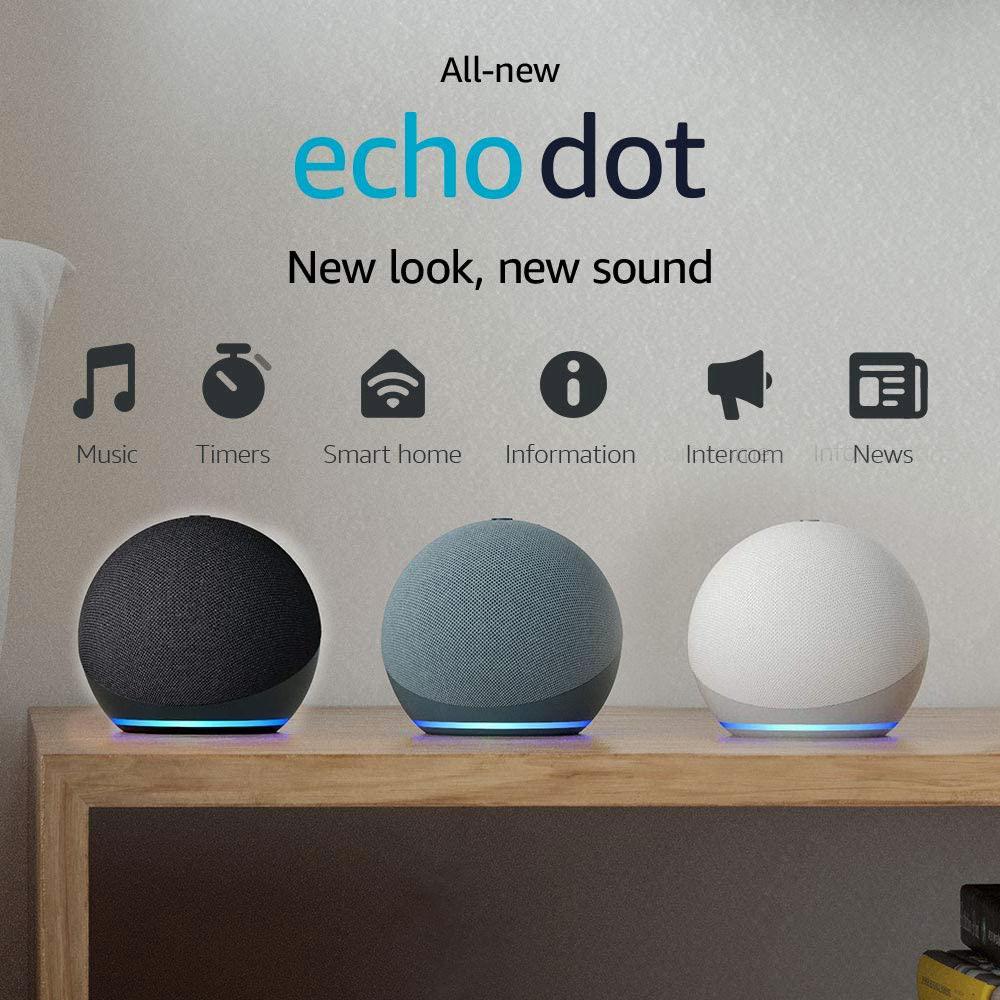 Amazon Echo Dot 4 – Loa thông minh thế hệ mới 2021