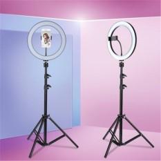 Đèn Led Livestream 26cm 30cm 36cm Full Phụ Kiện, Gồm Chân Đèn Và Kẹp Điện Thoại. Hỗ trợ Livestream, Phun Xăm, Make Up