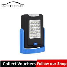 Justgogo 23 LED Làm Đèn Đèn Pin Đêm Đèn Pin Có Nam Châm Móc (xanh dương)-quốc tế