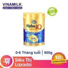 [Freeship HCM & HN] Sữa Bột Vinamilk Dielac Alpha Gold IQ Step 1 – Hộp Thiếc 900g – Dành cho bé 0-6 tháng tuổi