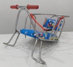 ( ẢNH THẬT SHOP TỰ CHỤP) Ghế ngồi xe đạp đơn cho bé- ghế ngồi xe đạp có đai an toàn cho bé – giao ngẫu nhiên