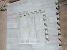 10 tấm Thảm xốp vân gỗ lót sàn 30*30*1.0