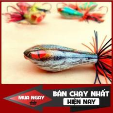 [Siêu Rẻ] Nhái nhảy đầu rắn 9.5g giao màu ngẫu nhiên chuyên câu cá lóc