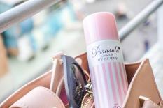 Xịt chống nắng SPF50+ PA++++ bảo vệ da Nhật Bản Naris Parasola Essence in UV Cut Spray (90g)