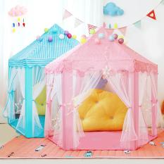 Lều Cho Bé Lều Công Chúa Hình Lục Giác Cho Bé Kiểu Dáng Hàn Quốc – Lều cắm trại cho bé vui chơi