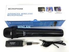 Micro Karaoke không dây đa năng cao cấp UHF V10 V12- dành cho loa kéo, loa bluetooth, amply hát karaoke zack cắm 3.5 – 6.5mm