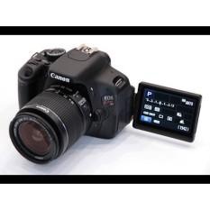 Canon 600D / Kiss X5 / Rebel T3i Body / Kèm Ống Kính Canon EF-S 18-55 f/ 3.5-5.6(Mới 98%) – đen Máy 99%