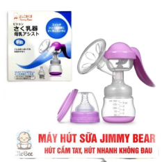 Máy Hút Sữa Cầm Tay | sản xuất bằng chất liệu nhựa cao cấp | không chứa BPA | vận hành rất êm, không gây tiếng ồn