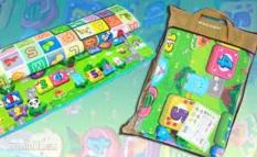 Thảm chơi Maboshi loại 2 mặt [2.2mx2.0m] nhiều màu vui nhộn, thảm xốp cho bé