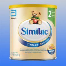 Sữa bột Abbott Similac số 2 dành cho trẻ nhỏ 6-12 tháng tuổi (Hộp 400g)