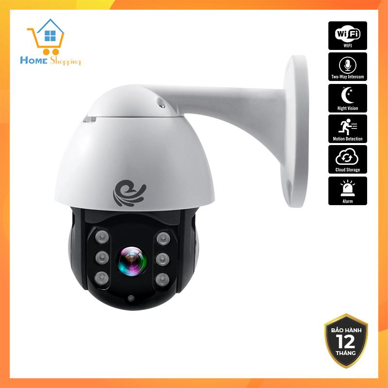 Camera wifi, Camera ip, camera ngoài trời xoay 360 chống nước VIETSTAR CC8021, 2.0 MPx 1080P có kết nối máy...
