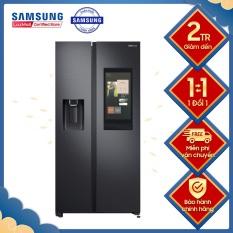Tủ lạnh Samsung Inverter 616 lít RS64T5F01B4/SV Mới 2020, Tiện ích: Làm lạnh nhanh Làm đá nhanh Làm đá tự động Inverter tiết kiệm điện Lấy nước bên ngoài Ngăn đá lớn Chuông báo cửa mở Lấy đá bên ngoài Bảng điều khiển bên ngoài