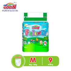 [Rẻ vô đối] Tã quần Goo.N Friend regular M9 (9 miếng) dành cho bé từ 7 -12 kg – Giới hạn 2 sản phẩm/khách hàng