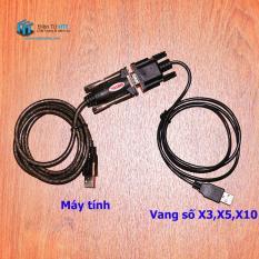 Bộ cáp kết nối Vang số X3 X5 K306D Với máy tính RS232