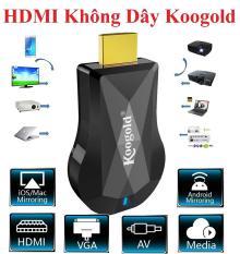 Thiết bị Kết Nối HDMI Không dây KooGold , HDMI không dây cao cấp Kết nối HDMI điện thoại với tivi, chơi game mobile trên màn hình tivi.