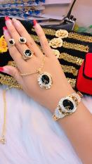 [ TRANG SỨC BỘ HOT 2019 DÙNG ĐI TIỆC – CAM KẾT KHÔNG ĐEN ] các kiểu trang sức đẹp | mẫu trang sức đẹp | bộ vàng trắng đẹp | vàng cưới đẹp | bộ vàng 18k đẹp | bộ trang sức đẹp thế giới | các mẫu trang sức đẹp | bạc đẹp | trang sức – GiVi Shop – VB4030462