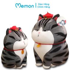 Gấu Bông Mèo Hoàng Thượng 20cm-30cm Cao Cấp Memon