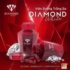 viên trắng da DIAMOND white mới