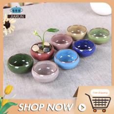 Chậu cây làm bằng gốm sứ với nhiều màu sắc chọn lựa (Sản phẩm không bao gồm cây) – Giới hạn 1 sản phẩm/khách hàng