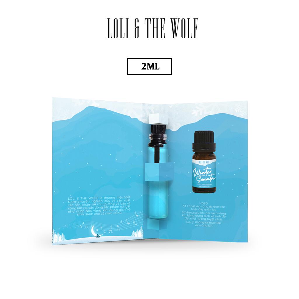 Nước Hoa Mini Cho Vùng Kín Mùi Unisex Eau De Parfum – Winter Sonata – Chai 2ml nhỏ gọn tiện lợi