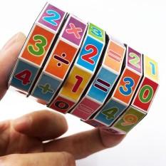 Đồ chơi toán học cho bé phát triển trí não – Rubik học toán 6 tầng cho trẻ em – Đồ chơi xếp hình cho bé trai – Thế giới đồ chơi cho bé gái cute – Đồ chơi thông minh khối rubik xoay lắp ghép cho bé – Đồ chơi trẻ em