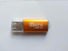 Đầu đọc thẻ nhớ MicroSD USB 2.0 Vỏ nhôm Loại Tốt (Có video test đầu đọc) SL: 1 chiếc
