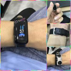 [ẢNH THẬT 100% KHÁC ẢNH HOÀN TIỀN ] Vòng theo dõi sức khỏe tích hợp tai nghe Đồng Hồ Thông Minh Smartwatch kết hợp tai nghe bluetooth T89 TWS , tai nghe nhét tai không dây âm thanh cực chất ,vòng tay thông minh theo dõi nhịp tim