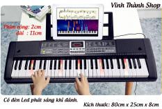[ Kèm Giá Đỡ Đàn ] Đàn Piano Điện Đàn Organ Electronic Keyboard Đàn 61 phím có đèn Led cho người mới học đàn