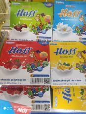 Vỉ 4 hũ sữa chua hoa quả Hoff cho bé từ 6 thánh tuổi