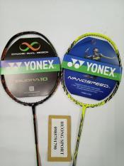Vợt cầu lông YONEX khung carbon -khuyến mãi căng dây và cuốn cán, bao vợt đi kèm