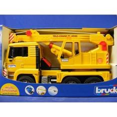 Đồ chơi dạng mô hình theo tỷ lệ thu nhỏ 1:16 xe cần cẩu Man BRUDER BRU02754