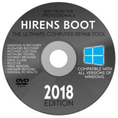 DVD Hiren Boot 15.2 Tích hợp Mini WIN10PE + Hướng dẫn chức năng