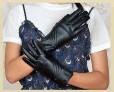 Găng tay da nữ thời trang cá tinh phong cách cực chất