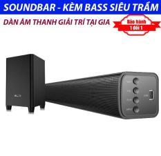 Dàn âm thanh tại gia gồm Loa Soundbar Bluetooth Tivi TVS- A3 + Loa Sub Subwoofer S1 – Âm thanh vòm sống động