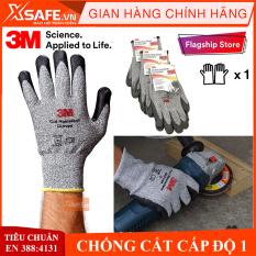 Găng tay chống cắt 3M cấp độ 1 – Găng chống cắt chống đâm xuyên tiêu chuẩn EN388:4131