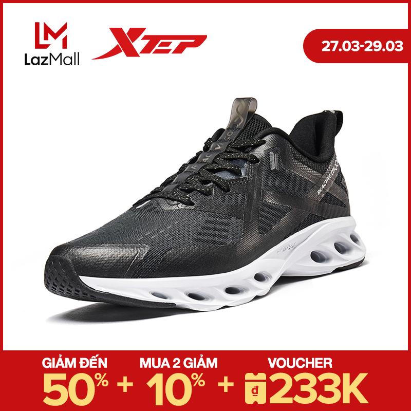 Xtep Giày Chạy Bộ Nam Giày Thể Thao Technology Nhẹ Lưới 980219110618