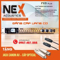 Vang cơ Nex FX9 Plus – Vang nhại hay, chống hú tốt có bluetooth, cổng quang, usb, ngõ ra Sub