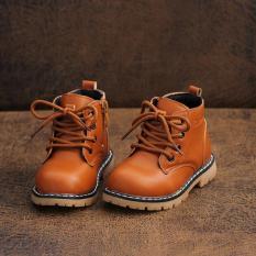 Giày Cho Bé Kiểu Dáng Hàn Quốc ,giày thể thao cho bé 20565 Màu nâu-33 -HQ Plaza