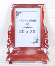 khung hình thờ gỗ 20 x 30