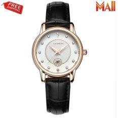 Đồng hồ nữ dây da đính hạt lấp lánh Sanda P198
