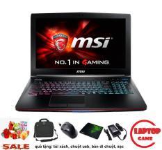Gaming MSI GE62 6QF (Core i5-6300H, Cad Khủng GTX 970M , RAM 8GB, HDD 1TB , 15.6 inch Full HD IPS, Phím 7 Màu)