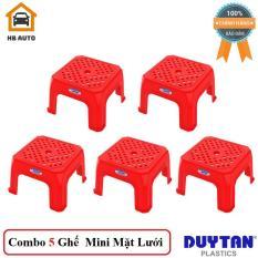 Combo 5 Ghế Mini Mặt Lưới Duy Tân (24.5 x 24.5 x 15.2 cm) No.472