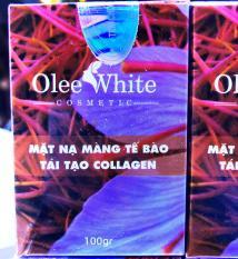 [Mỹ phẩm Hàn Quốc] Mặt Nạ Màng Tế Bào Tái Tạo Collagen – Olee White – Dưỡng Da Trắng Sáng, Tươi Trẻ
