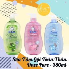 Tắm gội toàn thân Dnee Pure Thái 380ML