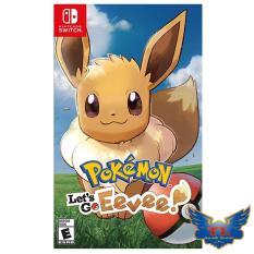 Đĩa game Pokemon: Let's Go, Eevee! cho máy nintendo switch – new nguyên seal