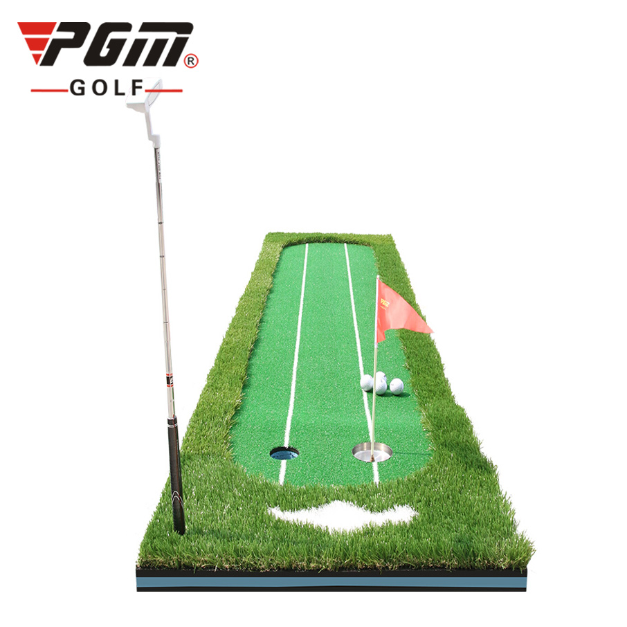 THẢM TẬP PUTTING GOLF – PGM PUTTING GREEN WITH TWO LINE – GL009
