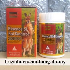 Viên Uống Essence of Red Kangaroo 20800 max 100 viên – giúp Tăng Cường Sức Khỏe